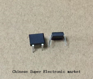 50PCS DB107 dip4 dip 1A 1000V Single Phases Diode Rectifier Bridge