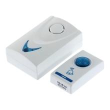 Hot Worldwide 1 pcs LED Wireless Chime Door Bell Doorbell & Wireles Remote contr