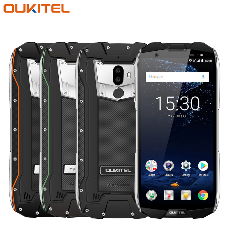 "Oukitel WP5000 IP68 Waterproof Mobile Phone 5.7"" 6GB RAM 64GB ROM Helio P25 Octa-core Android 7.1 5200mAh Fingerprint Smartphone"
