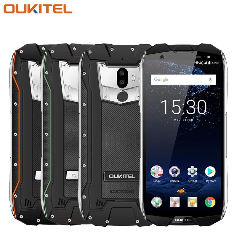 "Oukitel WP5000 IP68 Waterproof Mobile Phone 5.7"" 6GB RAM 64GB ROM Helio P25 Octa-core Android 7.1 5200mAh Fingerprint Smartphone"
