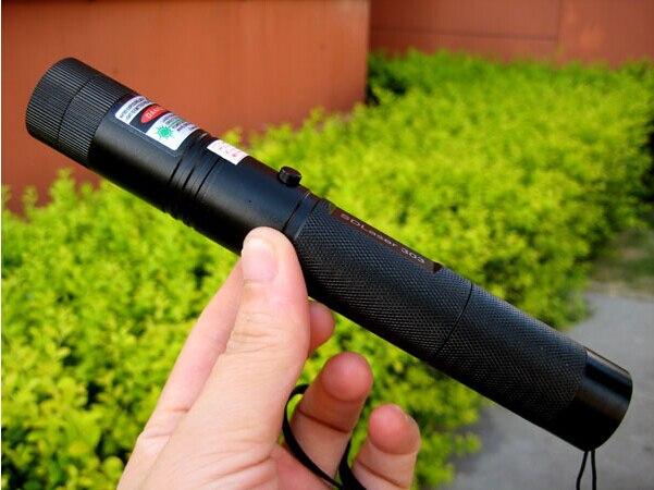 Professionnel Super Puissant! vert Laser Pointeur 100000 mw 100 w 532nm Allumette Sec Bois Cigarettes SDLaser 303 Livraison Gratuite