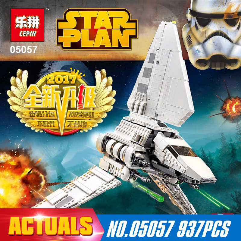LEPIN 05057 Star War Series Imperial Shuttle Tydirium Building Blocks Bricks Mini Assembled Toys Compatible with 75094 Gifts ювелирное изделие 75094