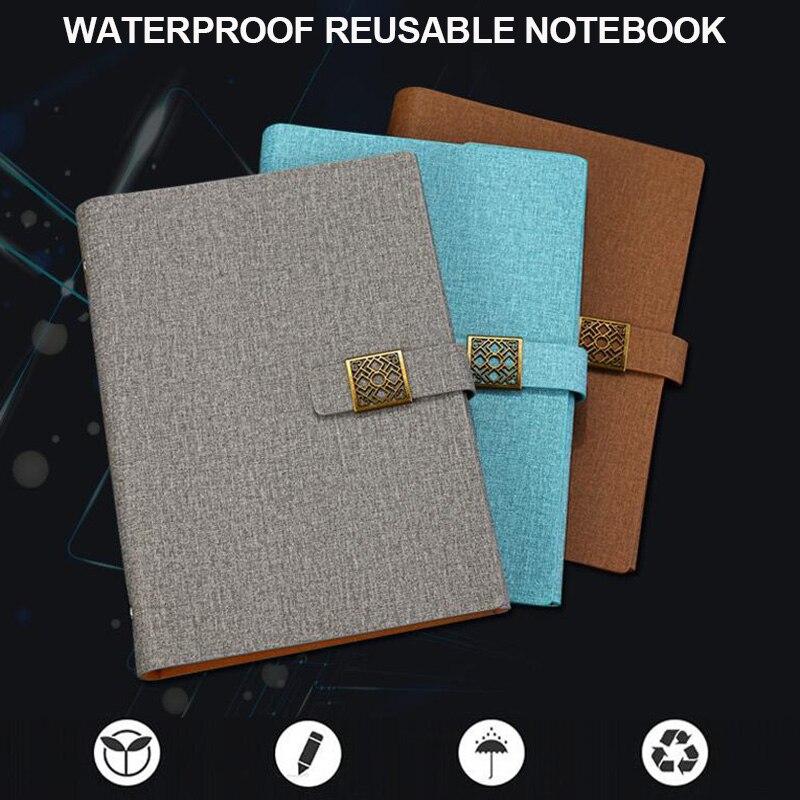 Водонепроницаемый умный многоразовый ноутбук, высокотехнологичный стираемый ноутбук размером A5|Записные книжки|   | АлиЭкспресс