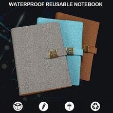 Cahier effaçable High tech imperméable à leau portable réutilisable taille A5