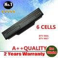 Venta al por mayor nueva batería del ordenador portátil para CLEVO M660 M660JE M660N M660S M661 M661N M665 squ-524 squ-503 BTY-M66 CBPIL44 envío gratis
