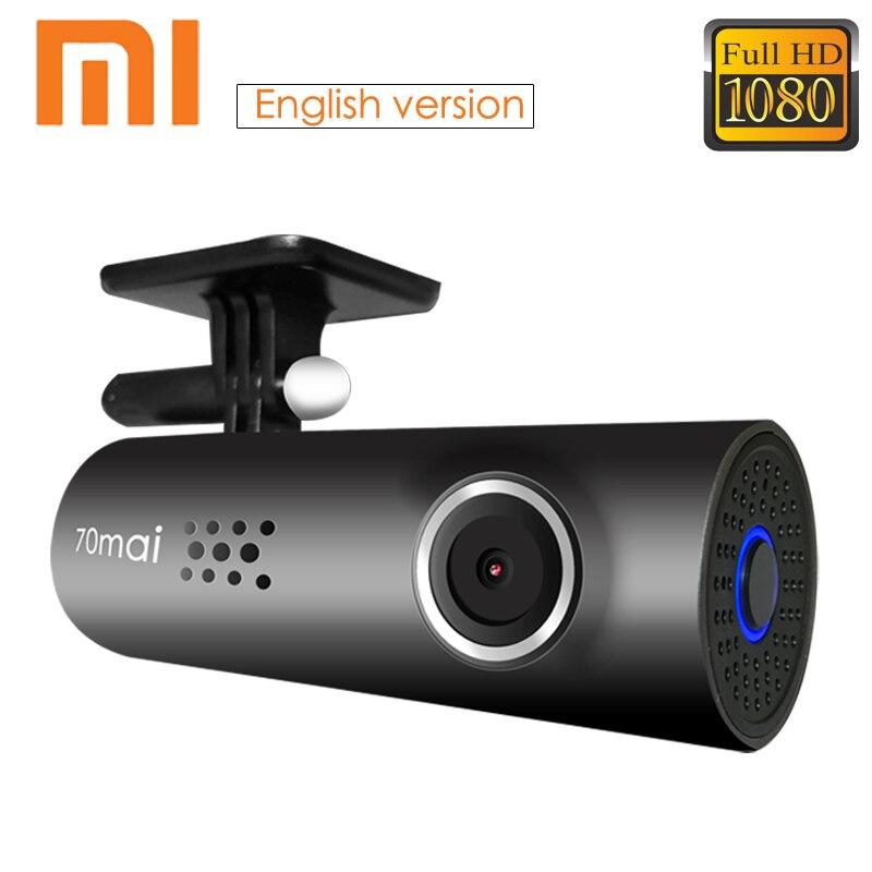 Xiaomi 70 Minutes 70mai Smart WiFi Car DVR Night Vision Dash Cam 130 Degree FHD Mstar 8328P Sony IMX323 1080P 30fps Car Camera