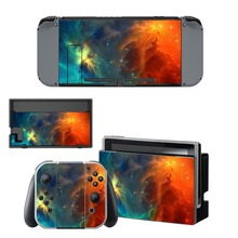 Custom Design Decal Vinyl Skin Sticker for Nintendo Switch NS Console + Controller + Stand Holder Protective Skin Sticker brush design protective decal skin sticker for nintendo 3ds xl 2014
