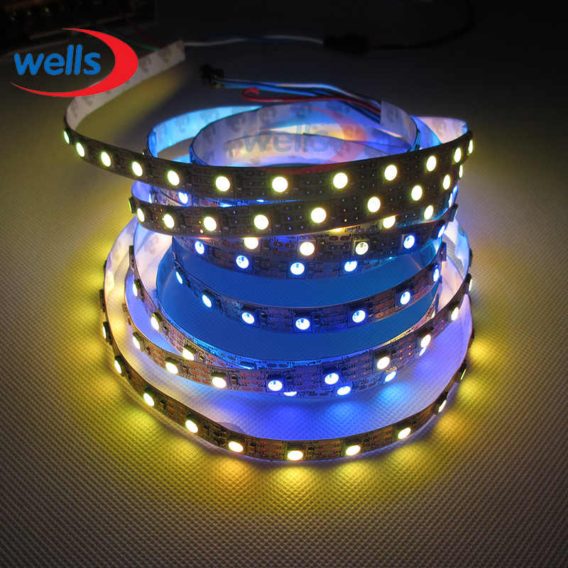 LED 5 M WS2811 Jalur Cahaya DC12V Tahan Air IP67/Tidak Tahan Air IP30 RGB Addressable 30 48 60 LEDs/M pixel strip 1 IC untuk 3 LEDs