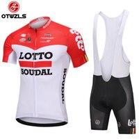 LOTTO 2018 Cycling Jersey Set Short Sleeve Summer MTB Cycling Clothing Pro Team Ropa Ciclismo Cycling