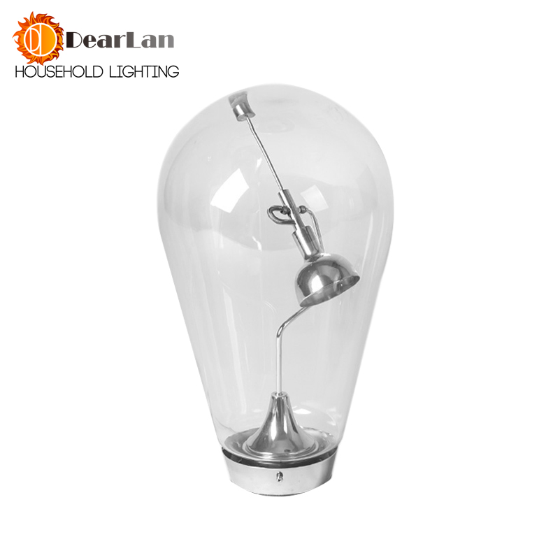 New 2015 Modern Fashional Table Lamps With Glass Shade 220v-240v G4 Light Bulbs For Beside Bedroom Living Rooms For Decoration  fashional modern black