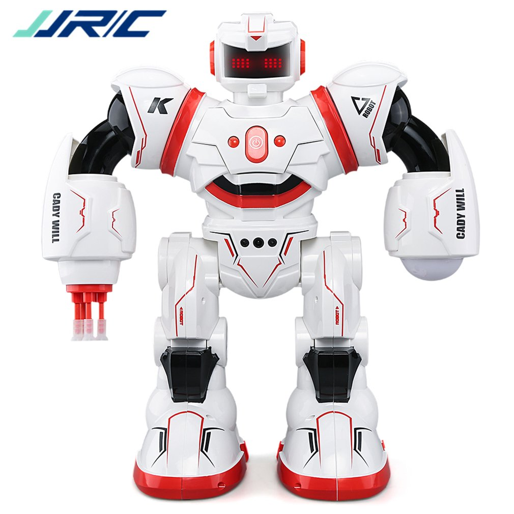 JJRC R3 Programmable défenseur télécommande éducation précoce Robot Intelligent Multi fonction musicale danse RC jouet enfants cadeau