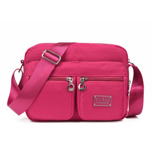 women fitness gym running bag sports bags for women running bag top-handle nylon travel shoulder bags BN2