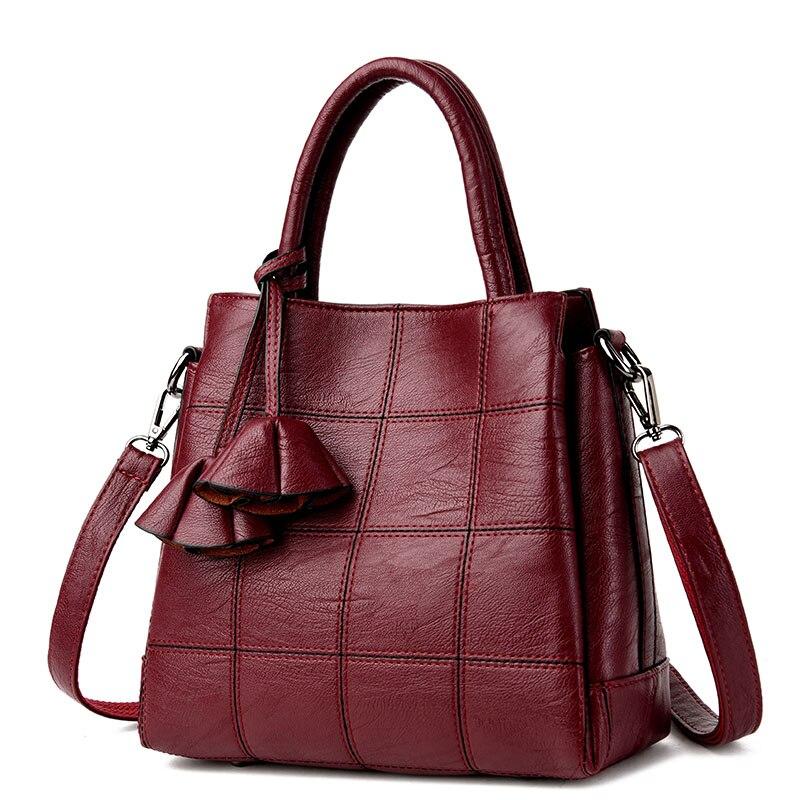 2018 Новый плед Для женщин сумка Роскошные Сумки Для женщин Сумки дизайнерские маленькие сумки Повседневное сумка женская Sac основной