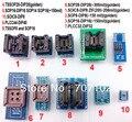 10 pcs kits de adaptadores para TL866cs TL866A ezp2010 programador top3000 Universal adaptador