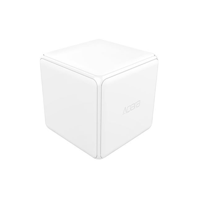[HOT]Xiaomi Aqara Magic Cube Controller Zigbee Version Controlled by Six Actions For Smart Home Device work with mijia home app