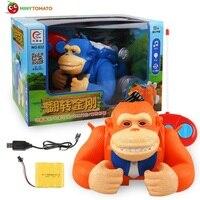 Di Telecomando di Trasporto libero King Kong Scimmia Stunt RC Auto con Musica Leggera Giocattolo Migliori Giocattoli Per I Bambini