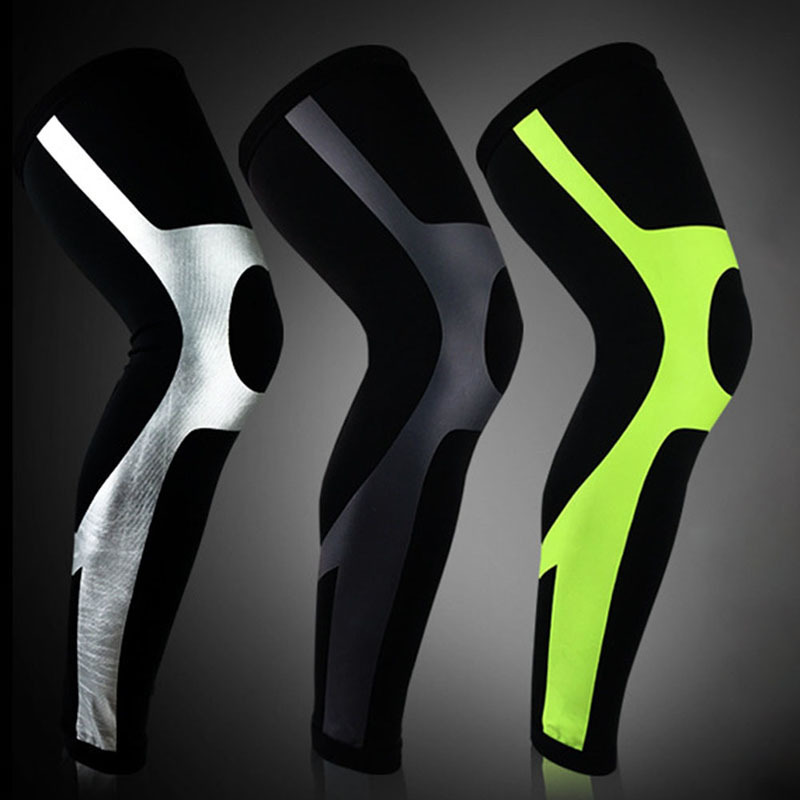 1PCS Basketball Knee Pads Sleeves Leg Calf Mollet Sports Knees Running Leg Warmers Cycling Breathable Sport Safety