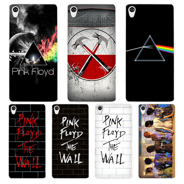 pink floyd white phone case cover for sony xperia z1 z2 z3. Black Bedroom Furniture Sets. Home Design Ideas