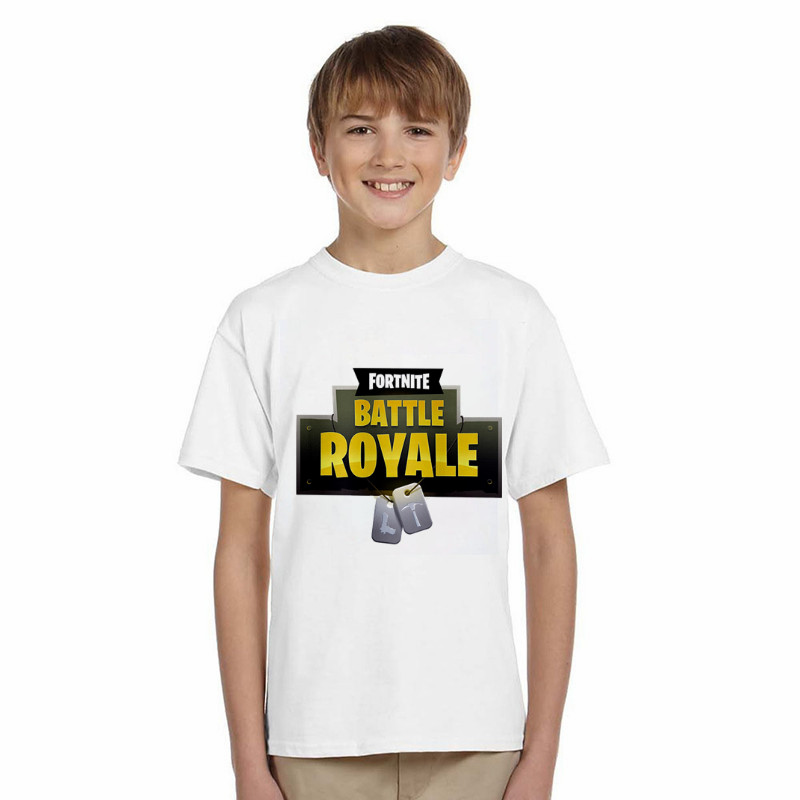 LYTLM Fortnite Battle Royale Toddler Boy Shirts Baby Boys Summer Tops Baby Boy Tshirt Cotton T Shirt Girls With Short Sleeves