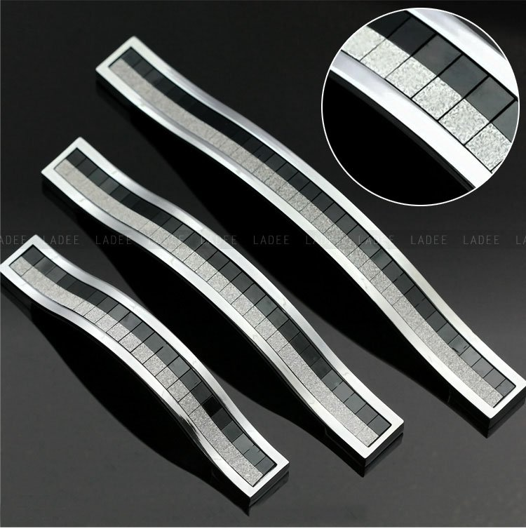 Modern Kitchen Cabinet Handles And Pulls: 10pcs Modern Kitchen Cabinet Handles And Drawer Pulls( C.C