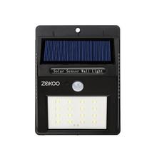 Waterproof 16 LED Solar Light Solar Panels Power PIR Motion Sensor LED