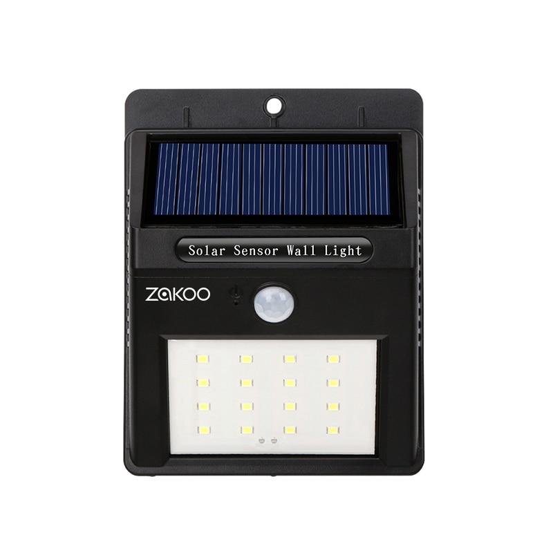 Lâmpadas Solares pir sentido do sensor levou Tipo de Célula Solar : Bateria de Lítio