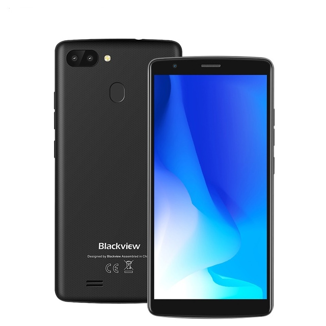 BLACKVIEW A20 Pro 5.5''18:9 HD+ smartphone Android 8.1 Fingerprint 4G 2GB+16GB Dual Rear Camera MTK6739 Quad core mobile phone