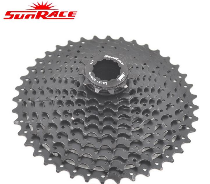 SunRace 10 Speed CSMS3 11-40T / 11-42T MTB Bike Cassette Freewheel Wide Ratio bicycle mtb freewheel Cassette 11-40T/11-42T image