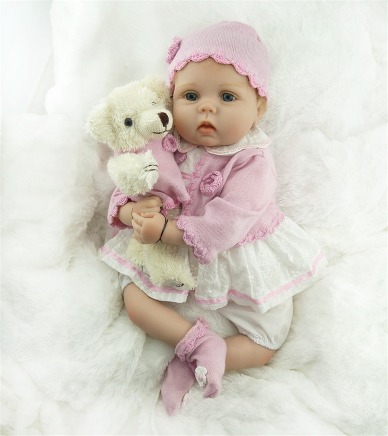 silicone reborn baby doll girls lifelike accompany newborn babies sleeping doll Children Christmas birthday gift brinquedos toy silicone reborn baby doll toy lifelike reborn baby dolls children birthday christmas gift toys for girls brinquedos with swaddle