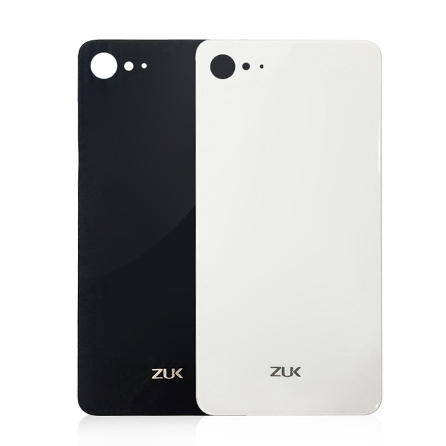 huge discount a411b 6ad5e US $4.49 |Original Glass Battery Back Cover For Lenovo ZUK Z2 5.0 inch  housing Back Door Cover Cases+Adhesive Strips black white in stock-in  Mobile ...