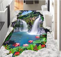 Self Adhesive Flooring Custom 3d Landscape Wallpaper White Clouds 3d Flooring Wallpaper Luxus Tile Flooring Bathroom