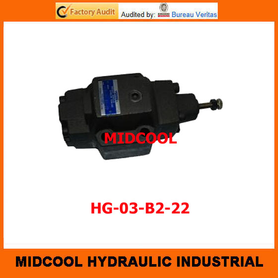 high quality hydraulic valve  HG-03-B2-22