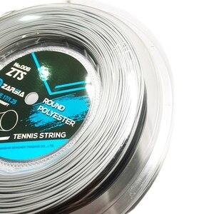 Image 5 - 1 بكرة ZARSIA مستديرة السلس تنس مضرب سلسلة راكيت تنس 4 جرام البوليستر تنس سلاسل 1.25 مللي متر 200 متر 4 ألوان