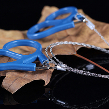 Useful Outdoor Plastic Steel Wire Saw Ring Scroll Travel Cam
