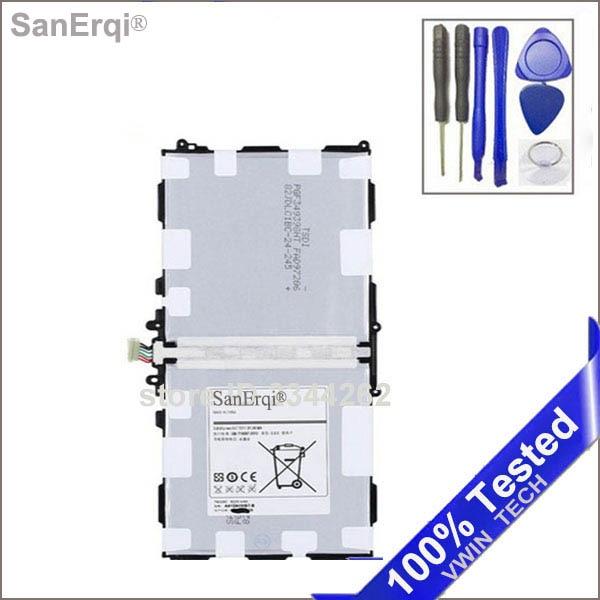 Sanerqi для <font><b>Samsung</b></font> Galaxy Note 10.1 P600 P601 P605 Батарея 8220 мАч долго стоять Батарея T8220U <font><b>T8220E</b></font>