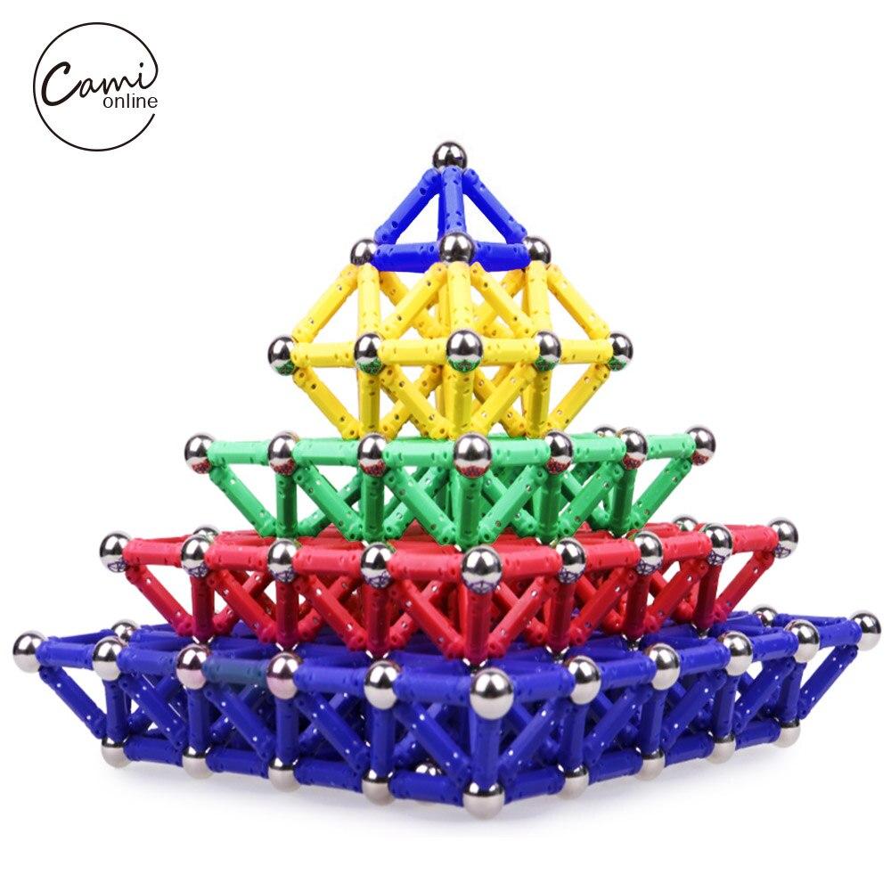 100/150/200 Teile/satz Bau Bausteine Spielzeug DIY 3D Magnetic Designer Pädagogische Ziegel Kinder DIY Blöcke Magnet spielzeug