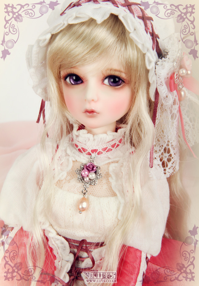 Resin doll BJD SD doll doll Kid Delf Girl YUZ 1/4 naked baby girl doll free shipping