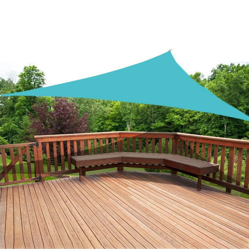 Drop Shipping Triangle Sun Shelter Sunshade Protection Outdoor Canopy Garden Patio Pool Shade Sail Awning Camping Picnic Tent