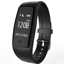 S1 Health Exercise Tracker, Sensible Band Bracelet Bluetooth Wi-fi Waterproof IP67 Pedometer Monitor for IOS & Android Smartphone