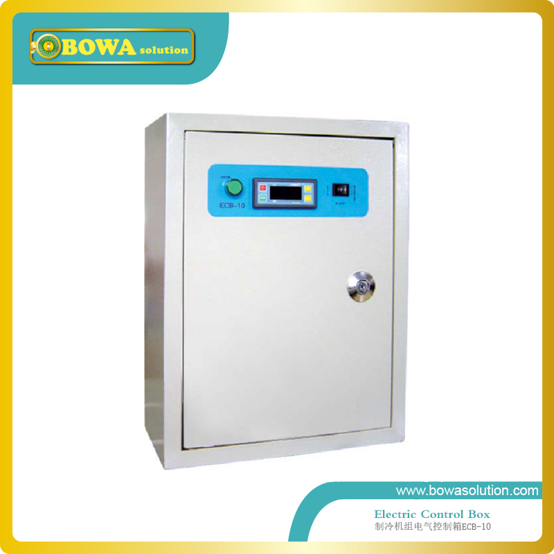 Universal Electrical Control boxes for high emperature cold room and 30HP  water cooled scroll compressor Unit  with pump  цены