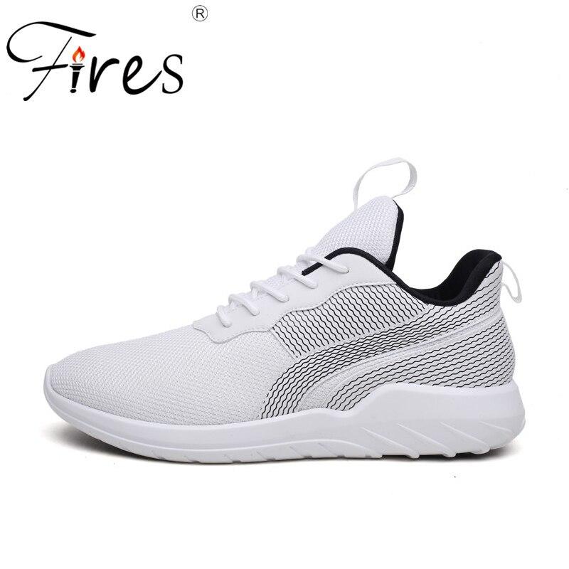 Fires Mens Sport Shoes Soft Lightweight Running Sneakers Shock Absorption Walking Shoes Men Sneaker Ourdoor Trainning Shoes
