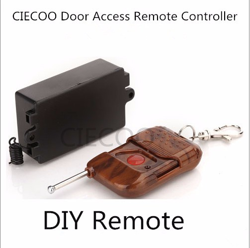 CIECOO DC 12v Wireless RF Remote Control Switch 2 Transmitter 1 Receiver 1 to 2 door access remote door access open button remote switch electronic lock mini rf receiver transmitter 3 7v 5v 6v 7 4v 9v 12v small wireless switch