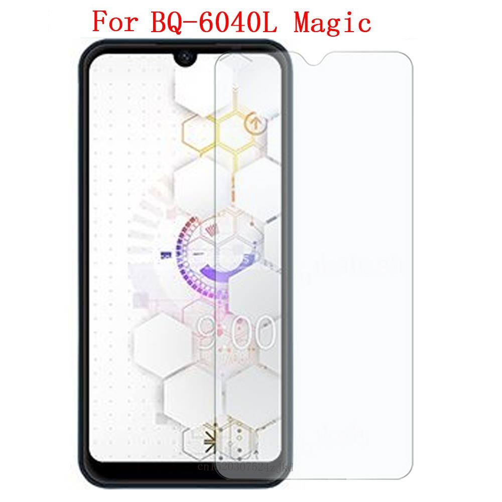 For BQ-6040L Magic Tempered Glass 9H 2.5D 100% High Quality Screen Protector Film For BQ-6040L Magic Mobile Phone