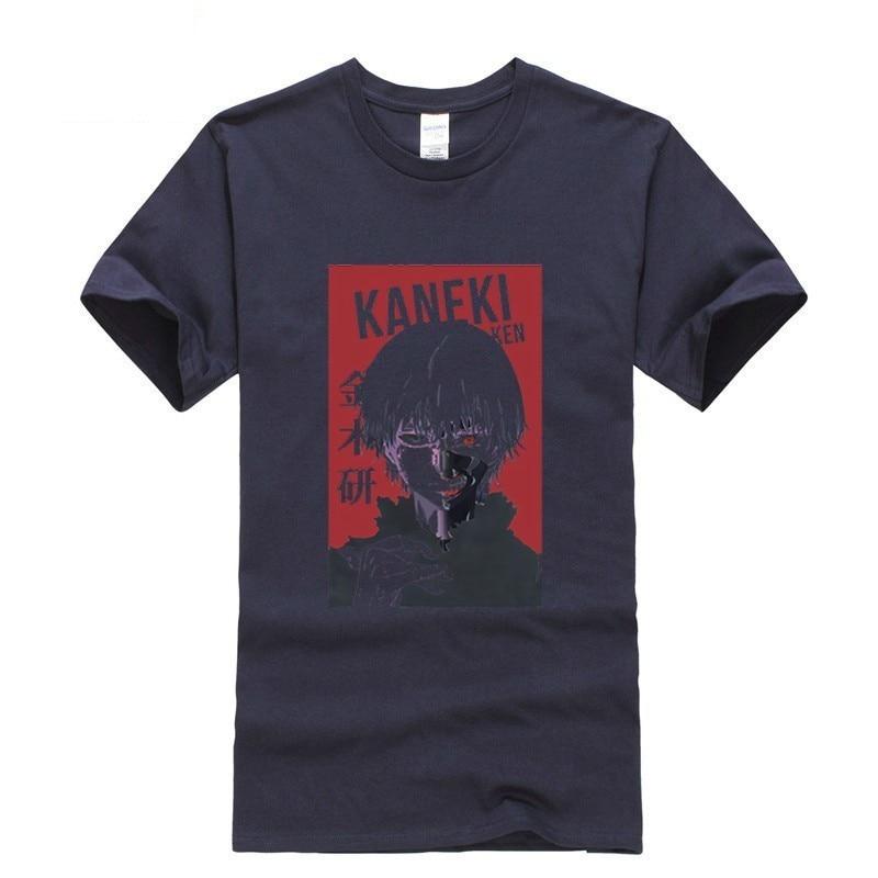 2019 suprem short sleeve Tokyo Ghoul Men streetwear oggai Ken Ken Sasaki men shirts tshirts brands men shirts in T Shirts from Men 39 s Clothing