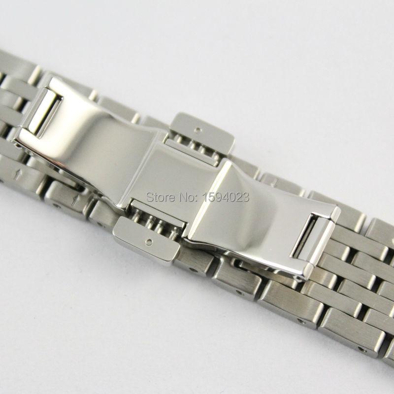 19 mm Urdele tvinger Locke T41 Solid rustfrit stål armbånd hanrem i - Tilbehør til ure - Foto 3
