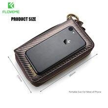 Floveme Универсальный кожаный бумажник чехол для iPhone 6/6 S 7 Plus 5 5S SE для Samsung Galaxy S8 S8 плюс S5 S6 S7 край чехол сумка