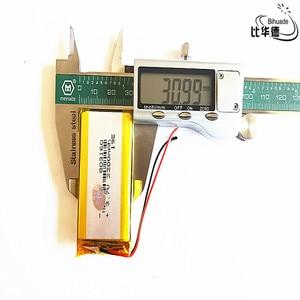 Image 2 - טוב Qulity ליטר אנרגיה סוללה 3.7 V, 2200mAH 803160 פולימר ליתיום יון/ליתיום סוללה עבור tablet pc בנק, GPS, mp3, mp4