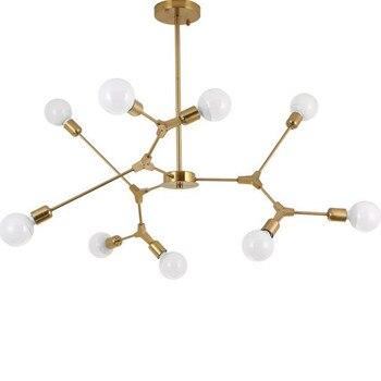 Nordic postmodernistyczna Wisząca lampa lampa led do salonu sypialnia restauracja
