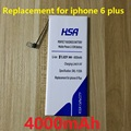 New 4000mAh Mobile Phone Battery Replacement For Apple iPhone 6 plus 5.5'' iPhone 6 plus 5.5 inch