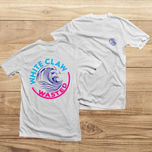 Women Fashion The ORIGINAL White Claw Wasted T-Shirt Shirt Hard Selzter Girl Tee